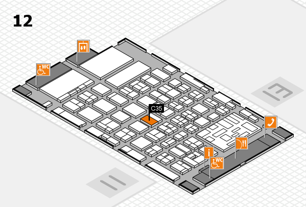 boot 2018 hall map (Hall 12): stand C35