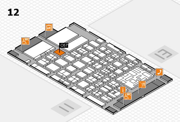 boot 2018 hall map (Hall 12): stand C67