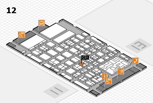 boot 2018 Hallenplan (Halle 12): Stand C31