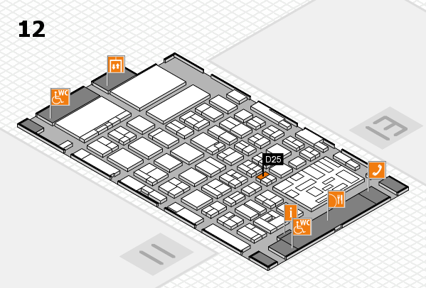 boot 2018 hall map (Hall 12): stand D25