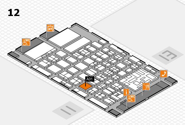boot 2018 Hallenplan (Halle 12): Stand A31