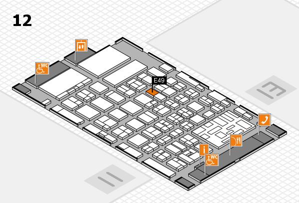 boot 2018 hall map (Hall 12): stand E49
