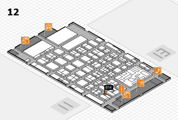 boot 2018 hall map (Hall 12): stand B14