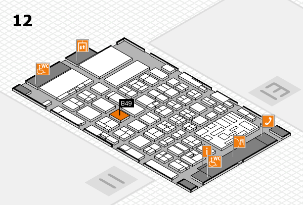 boot 2018 hall map (Hall 12): stand B49
