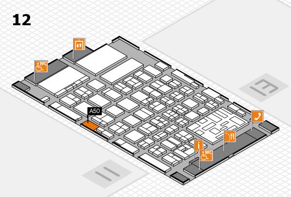 boot 2018 hall map (Hall 12): stand A50