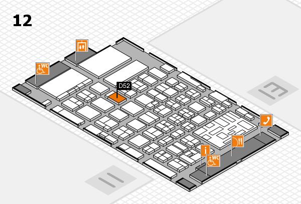 boot 2018 hall map (Hall 12): stand D52