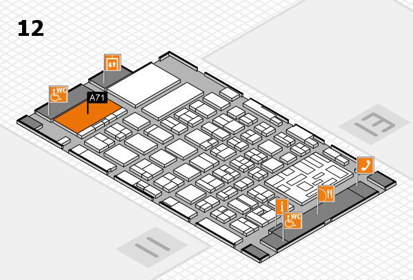 boot 2018 Hallenplan (Halle 12): Stand A71