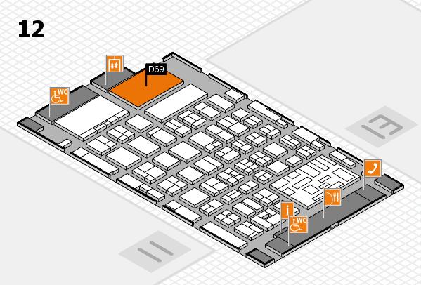boot 2018 Hallenplan (Halle 12): Stand D69