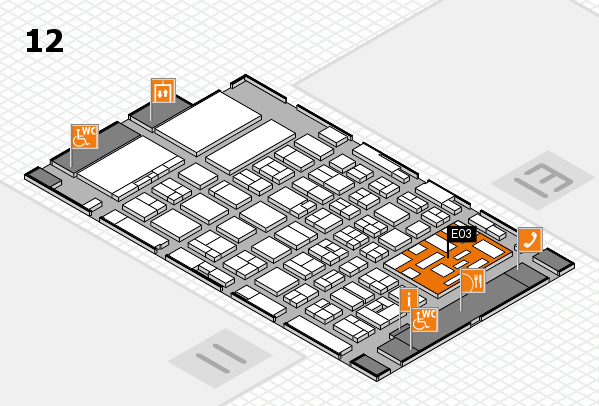 boot 2018 hall map (Hall 12): stand E03