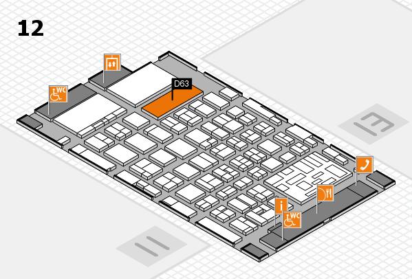 boot 2018 hall map (Hall 12): stand D63