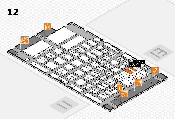 boot 2018 Hallenplan (Halle 12): Stand E03.4, Stand E03.5