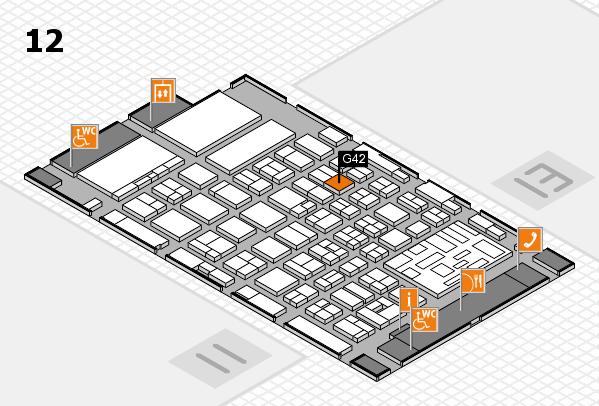 boot 2018 hall map (Hall 12): stand G42