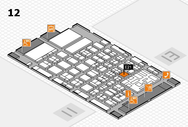 boot 2018 hall map (Hall 12): stand E21