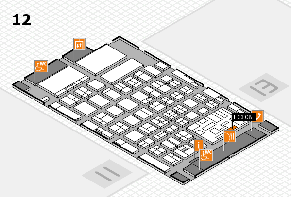 boot 2018 Hallenplan (Halle 12): Stand E03.08