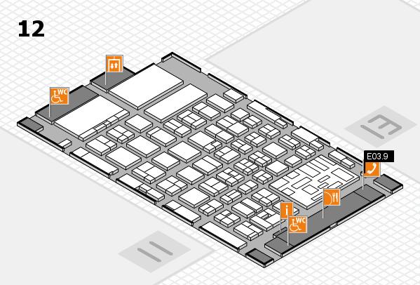 boot 2018 hall map (Hall 12): stand E03.9