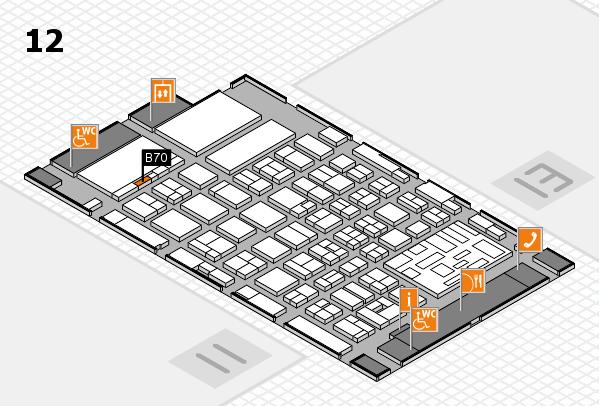 boot 2018 hall map (Hall 12): stand B70