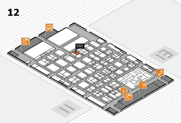 boot 2018 hall map (Hall 12): stand E60