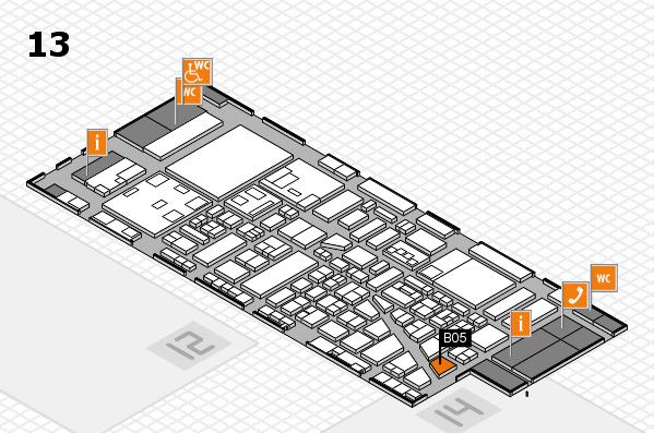 boot 2018 hall map (Hall 13): stand B05