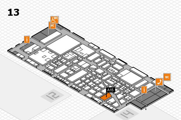 boot 2018 Hallenplan (Halle 13): Stand A15