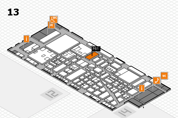 boot 2018 hall map (Hall 13): stand F61