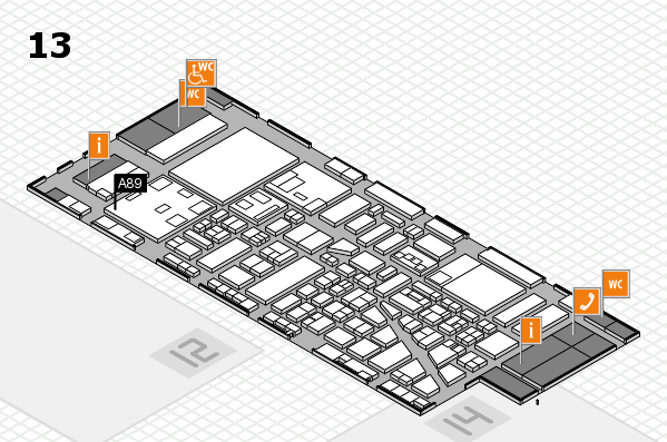 boot 2018 hall map (Hall 13): stand A89