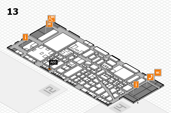 boot 2018 Hallenplan (Halle 13): Stand A66