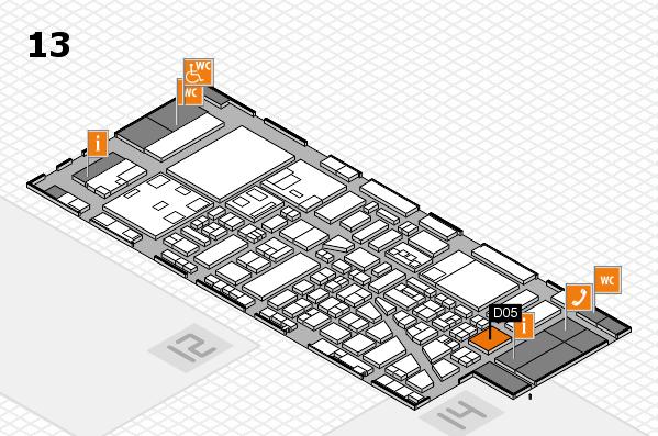 boot 2018 hall map (Hall 13): stand D05