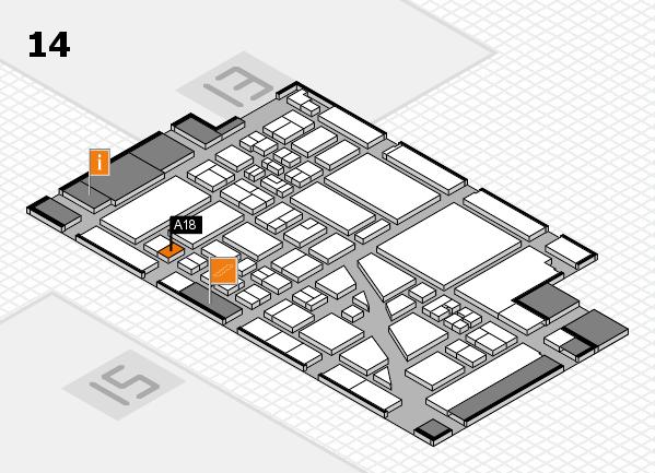 boot 2018 hall map (Hall 14): stand A18