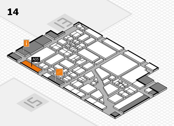 boot 2018 Hallenplan (Halle 14): Stand A05