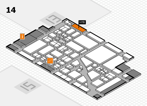 boot 2018 hall map (Hall 14): stand H18