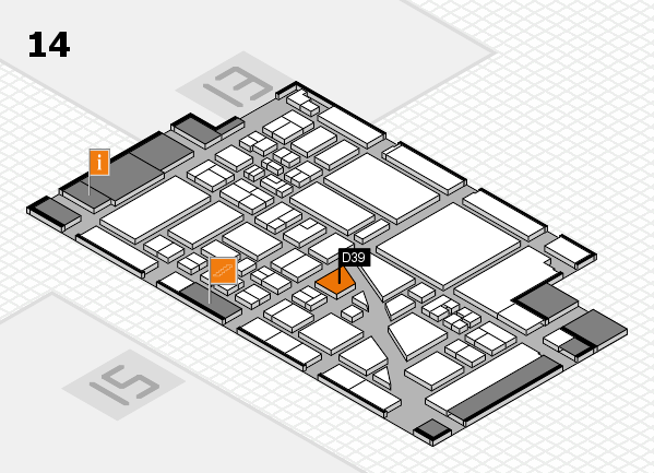 boot 2018 hall map (Hall 14): stand D39
