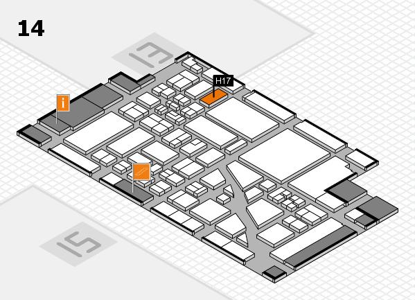 boot 2018 Hallenplan (Halle 14): Stand H17