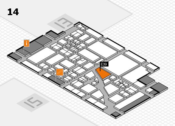 boot 2018 hall map (Hall 14): stand E39