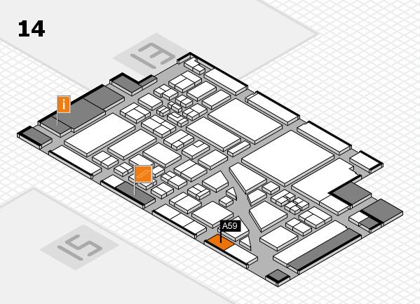 boot 2018 hall map (Hall 14): stand A59