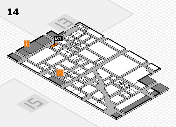 boot 2018 Hallenplan (Halle 14): Stand E03