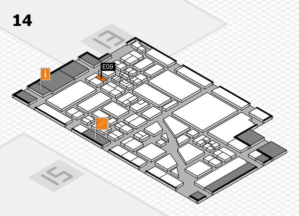 boot 2018 Hallenplan (Halle 14): Stand E09