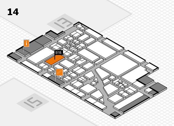 boot 2018 Hallenplan (Halle 14): Stand B18