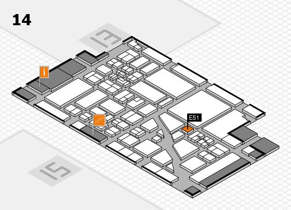 boot 2018 hall map (Hall 14): stand E51