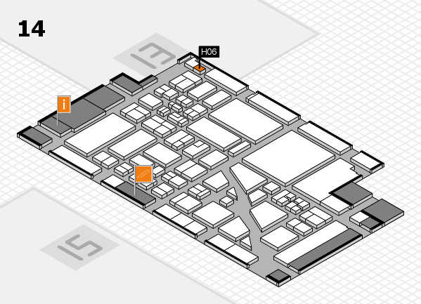 boot 2018 hall map (Hall 14): stand H06