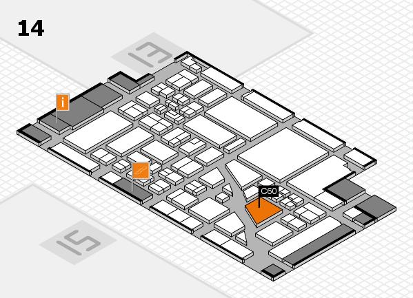 boot 2018 hall map (Hall 14): stand C60