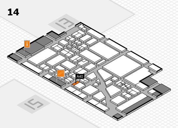 boot 2018 hall map (Hall 14): stand A40
