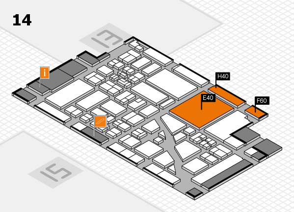 boot 2018 Hallenplan (Halle 14): Stand E40, Stand H40