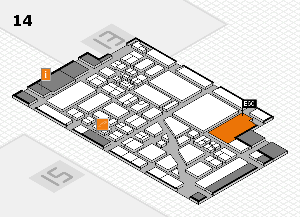 boot 2018 Hallenplan (Halle 14): Stand E60