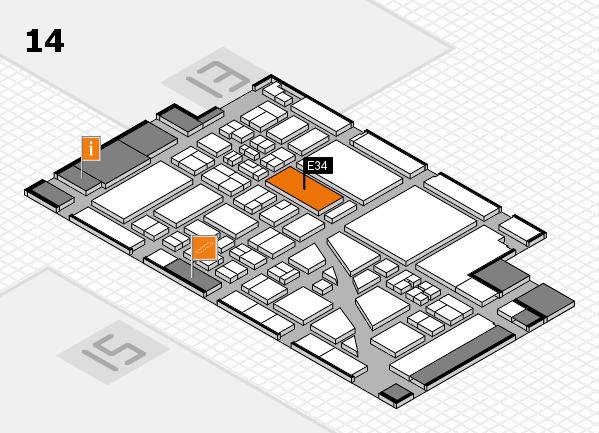 boot 2018 hall map (Hall 14): stand E34