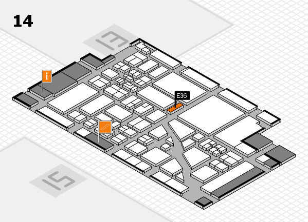 boot 2018 hall map (Hall 14): stand E36