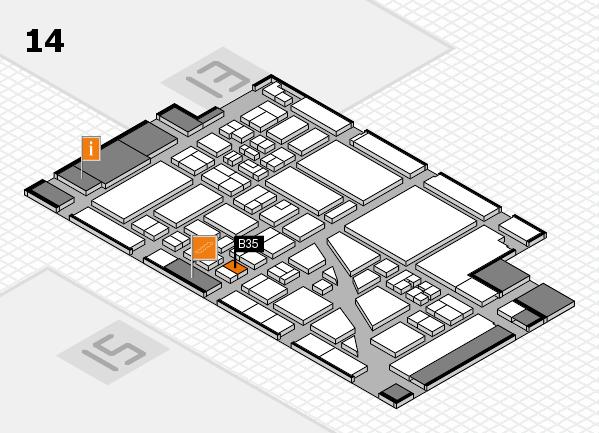 boot 2018 hall map (Hall 14): stand B35