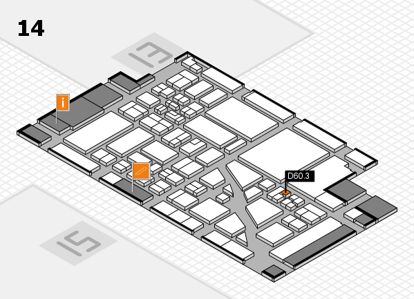 boot 2018 hall map (Hall 14): stand D60.3
