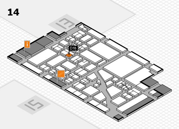 boot 2018 hall map (Hall 14): stand D18