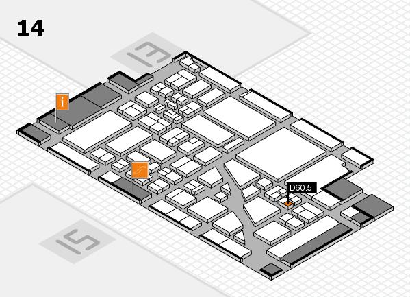 boot 2018 hall map (Hall 14): stand D60.5