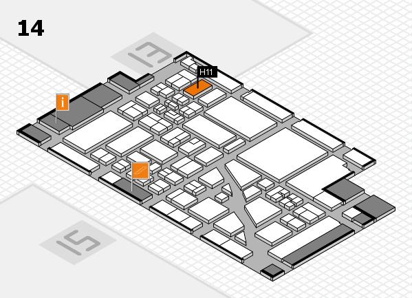 boot 2018 hall map (Hall 14): stand H11